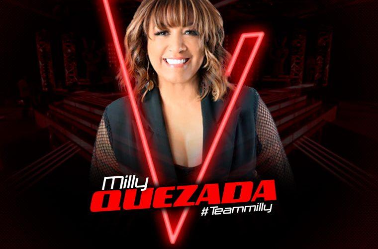 The Voice Dominicana, tendrá a Milly Quezada como jurada.