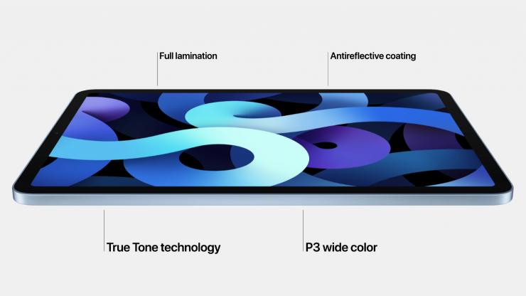 Apple lanza también nueva iPad Air.