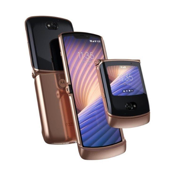 Motorola anuncia el Razr 5G, lo nuevo de smartphone plegable.