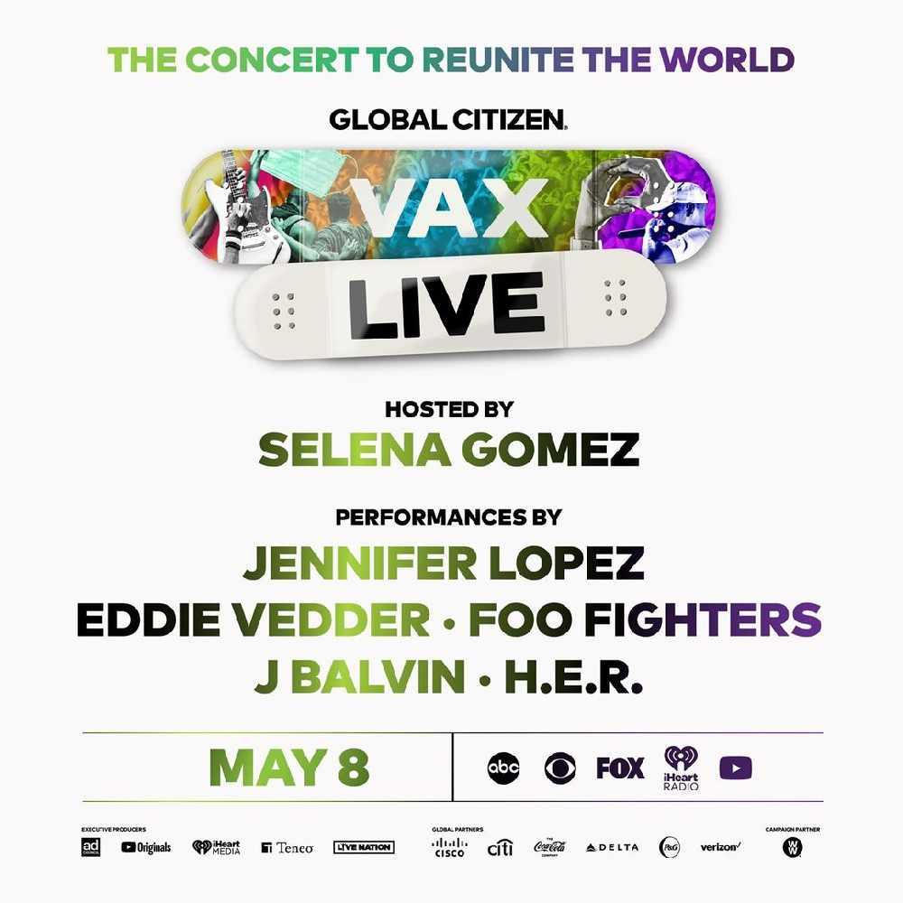 """Jennifer López  y el príncipe Harry  encabezan el concierto """"Vax Live"""""""