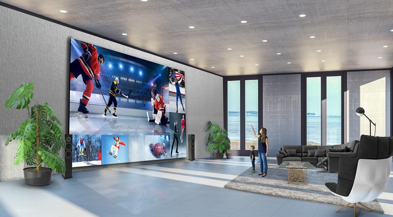 LG lanza pantallas gigantes de hasta 325 pulgadas con tecnología DVLED.